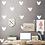 Thumbnail: מדבקת קיר - דמוי טפט מיקי מאוס