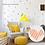 Thumbnail: מדבקת קיר צורות גאומטריות דמוי טפט לחדרי ילדים