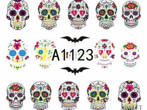 A1123 - מדבקת ציפורניים