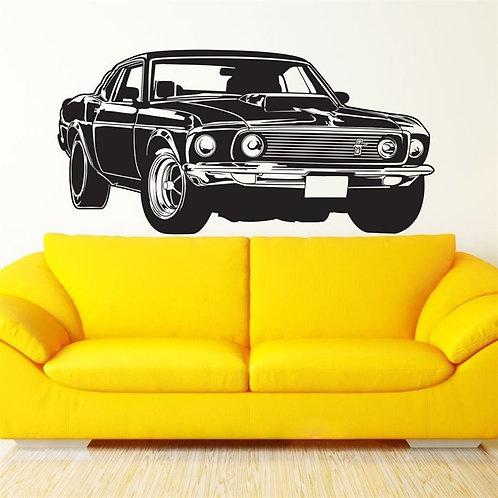 Shelby Ford Mustang -מדבקת קיר - פורד מוסטנג