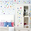 Thumbnail: מדבקת קיר כוכבים צבועים בשלל צבעים