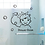 Thumbnail: מדבקת קיר - חדר רחצה