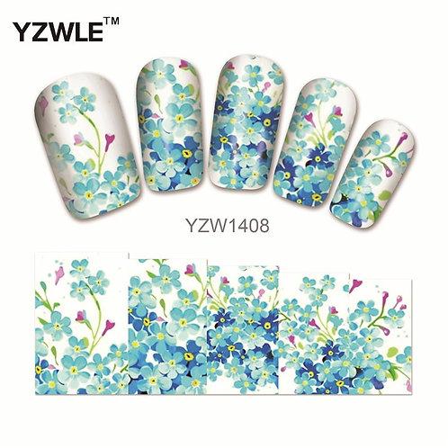 YZW1408 - מדבקת ציפורניים