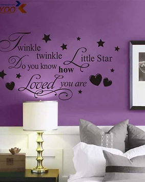 wall-sticker-livingroom-with-text-purple
