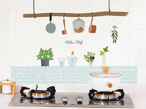 מדבקות קיר מעוצבות למטבח