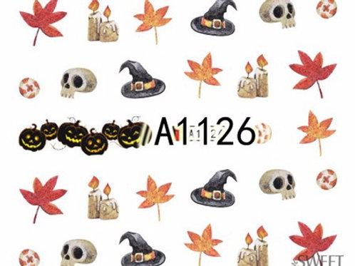 A1126 - מדבקת ציפורניים