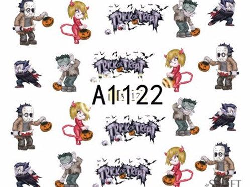 A1122 - מדבקת ציפורניים