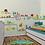 Thumbnail: מסלול מכוניות מצוירות לעיצוב חדר הילדים