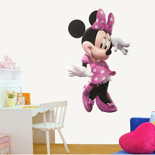 Minnie Mouse - מדבקת קיר - דיסני - מיני מאוס