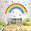 Thumbnail: קשת בענן עם כוכבים צבעוניים
