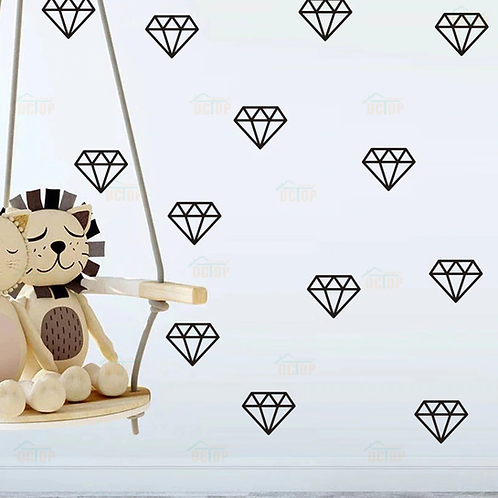 דמוי טפט - יהלום זהב 34 יחידות