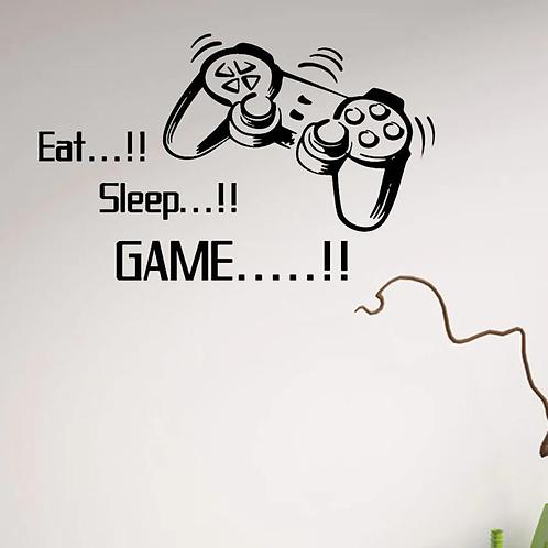 !פלייסטיישן - לישון! לאכול! לשחק