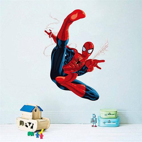 Air Spiderman - מדבקת קיר ספידרמן באוויר