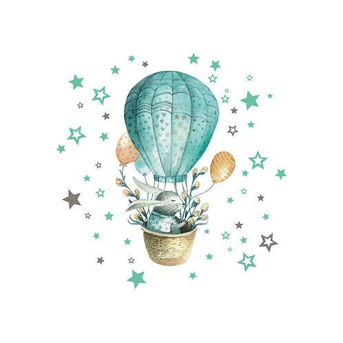 ארנב כוכבים וכדור פורח