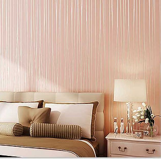 wallpaper-3colors-bedroom-modern-stripts