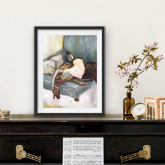 A Soft Place to Fall Print