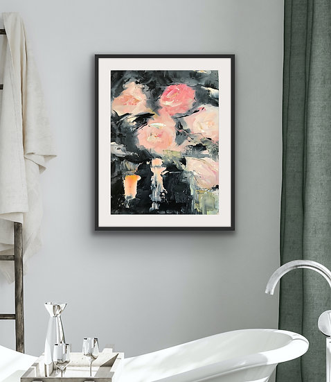 Rose Reflection Print