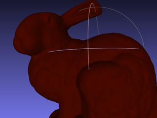 How to smooth a 3D object with Meshlab for 3D printing