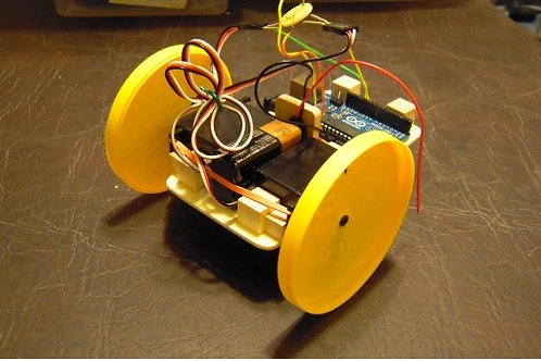 Camp - learn how to build a robot from scratch with an arduino board - Teen make