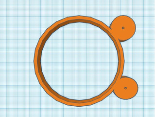 The basics to start with Tinkercad: How to create a Mickey Mouse ring and 3D print it