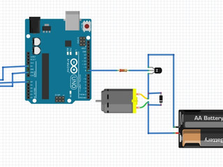How to control a DC motor speed with a Arduino Uno board and a potentiometer