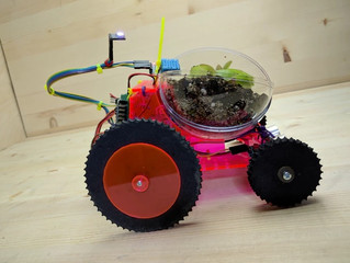 Plantoid: The open source Arduino based organic plant robot