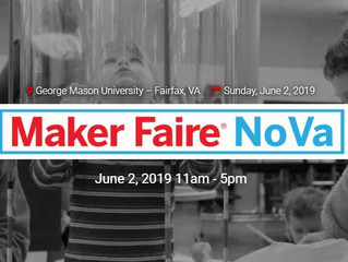 Nova Maker Faire 2019: STEM activities for kids and adults in the Washington DC area