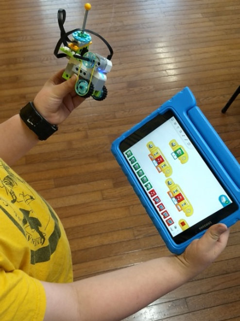 STEM camp: How to build and code for Lego
