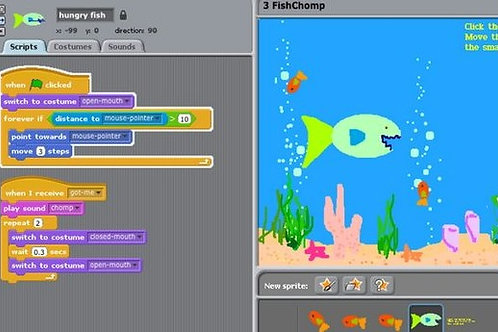 STEM after-school in Maryland and Washington DC: Scratch coding