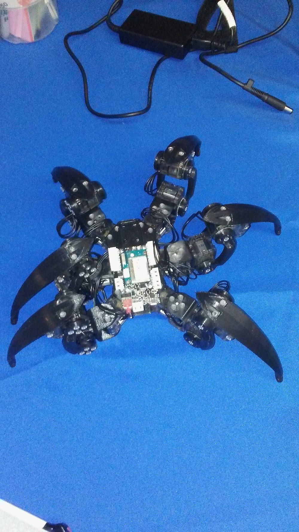 3D printed spider robot