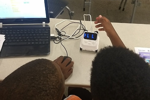 STEM Camp:  Learn how to code for robotics