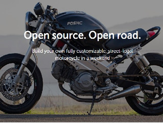 FOSMC: The Fictic Open Source Motorcycle. Build your motorcycle in a week-end