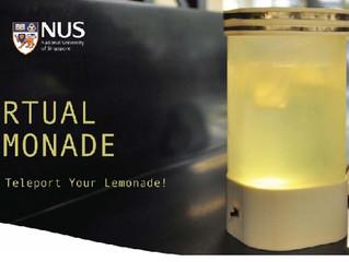 The virtual lemonade teleporter: Let's teleport our beverage