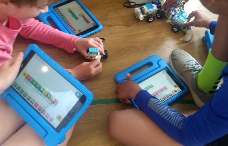 robotics coding 2 - STEM summer camp for