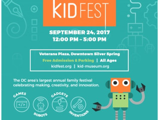 Kidfest 2017: The STEM event in Downtown  Silver Spring Maryland
