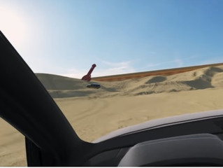 Enter the Sandbox: The virtual reality world creates by Audi in a sandox with a Microsoft kinect