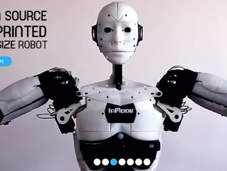 Inmoov the robot: How to build an human size opensource robot with a 3D printer