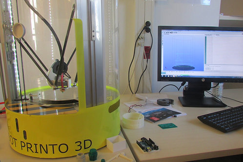 STEM Camp : How to use 3D printing and 3D modelisation - Maker builder