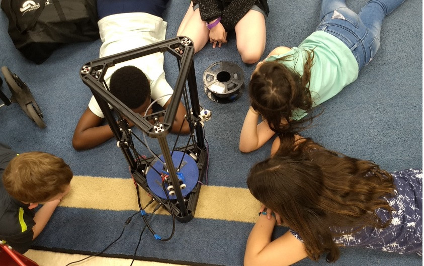 3D printing 2 - STEM summer camp for kid