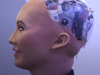 Sophia the robot: The robot  using artificial intelligence develloped by Hanson Robotics