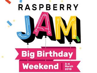 Raspberry pi Jam Birthday weekend in Washington DC - March 3rd 2018