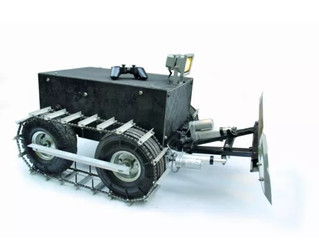 How to make an RC open source snow plow robot controlled by an Arduino