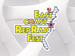 Eastcoast Reprap Festival 2018: Opensource 3D printer event in Maryland June 22 - 24 2018