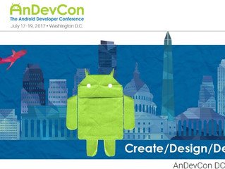 The Android developer conference in Washington DC from june 17th to 19th
