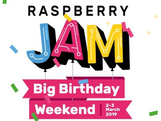Raspberry pi birthday Jam 2019: STEM robotics after-school for kids in Washington DC