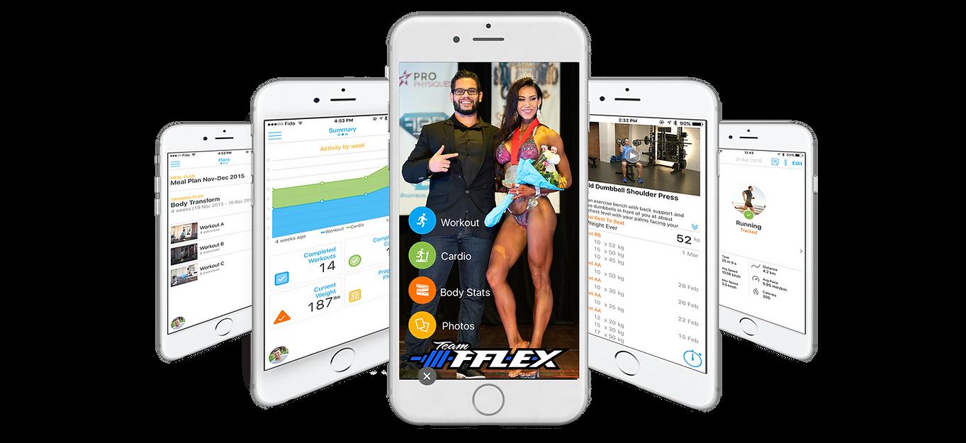 TeamFFLEX App Overall Npc Ifbb Bikini Competitor Ryan Milton Bodybuilding