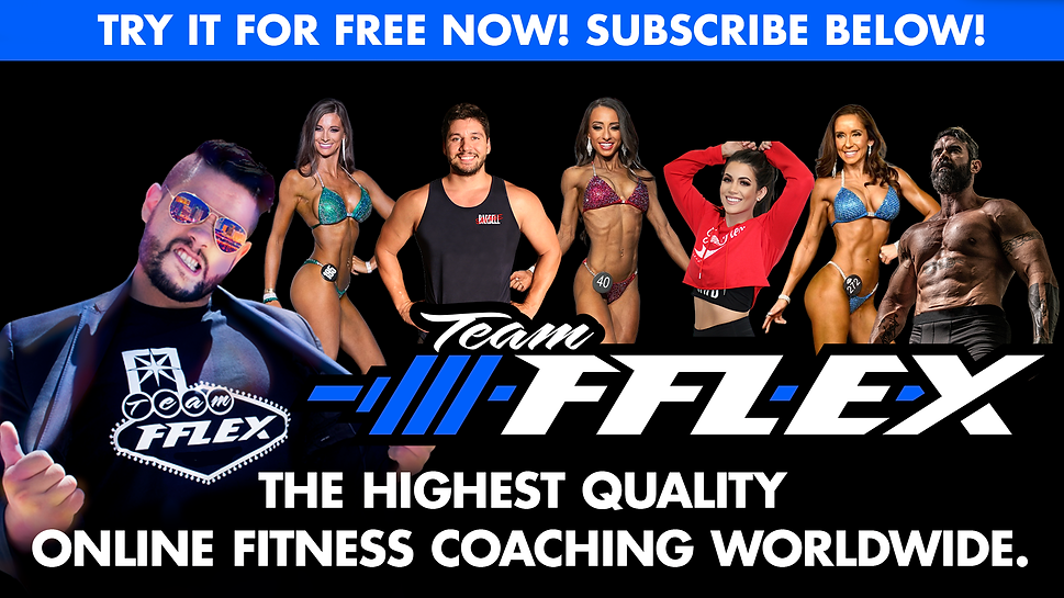 TeamFFLEX online personal training team of coaches. Ryan Milton, Caileen Walker, Bryanna Barcelo, Cullan Milton, Haley Kalaj, Kelly Vaupel, Chris Cotty. The highest quality online fitness coaching worldwide for npc ifbb bikini, wellness, bodybuilding, mens physique, classic physique, fat loss, weight loss, muscle building, pregnancy fitness