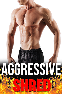 teamfflex aggressive shred online program for fat loss and weight loss for men. Shirtless attractive man with muscle development and 6 pack abs