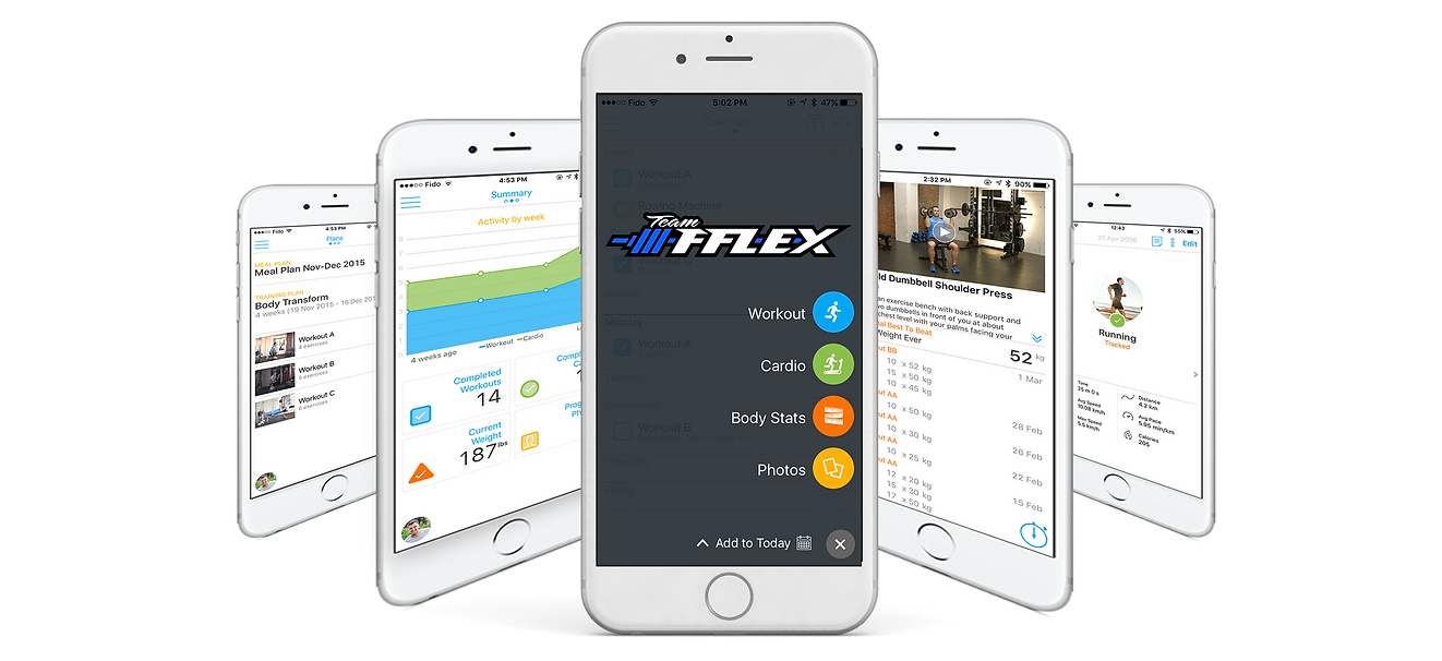 TeamFFLEX Online coaching app