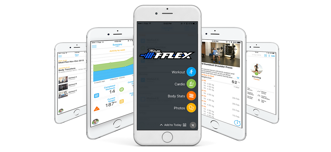 TeamFFLEX Online Coaching App